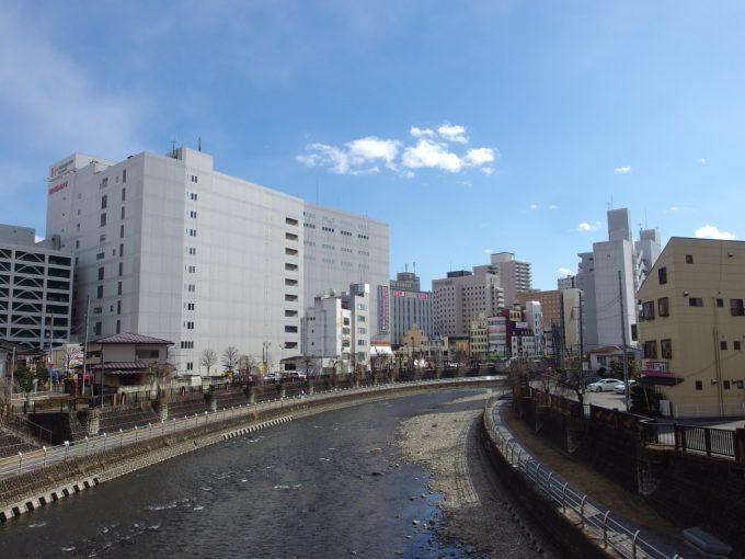 川の流れる歳と歴史の共存する街宇都宮