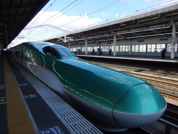宇都宮駅からE5系やまびこ号で福島駅へ