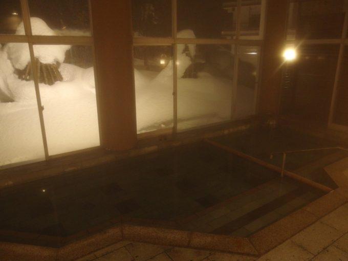 小野川温泉河鹿荘大浴場あさみどり