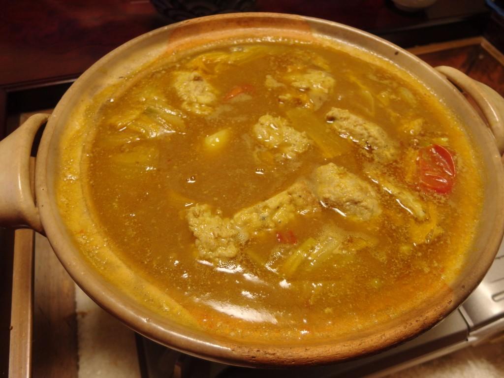 和風印度カレー和風鍋