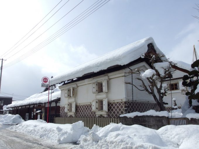 冬の米沢酒造資料館東光の酒蔵