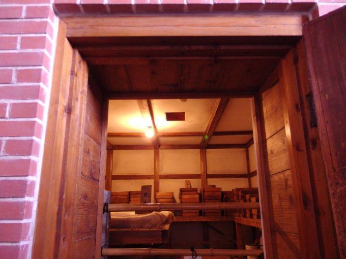 米沢酒造資料館東光の酒蔵レンガ造りの麹室