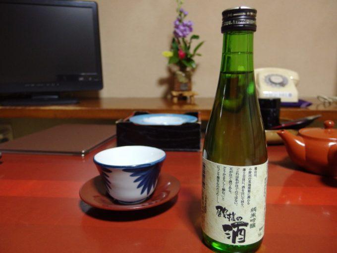 白布夜のお供に米鶴殿様の酒