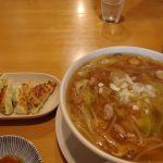 飯坂温泉麺飯酒家万来餃子と万来めん醤油