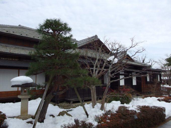 飯坂温泉旧堀切邸主屋