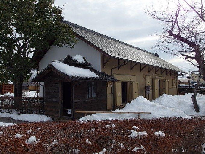 飯坂温泉旧堀切邸福島県最古の土蔵十間蔵