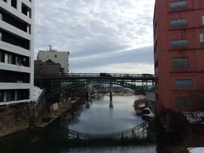 飯坂温泉のシンボル対象竣工の十綱橋