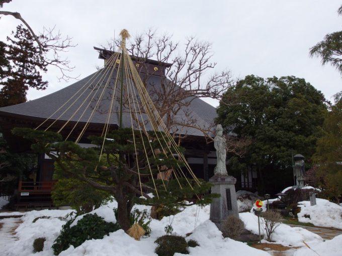 福島飯坂医王寺本堂