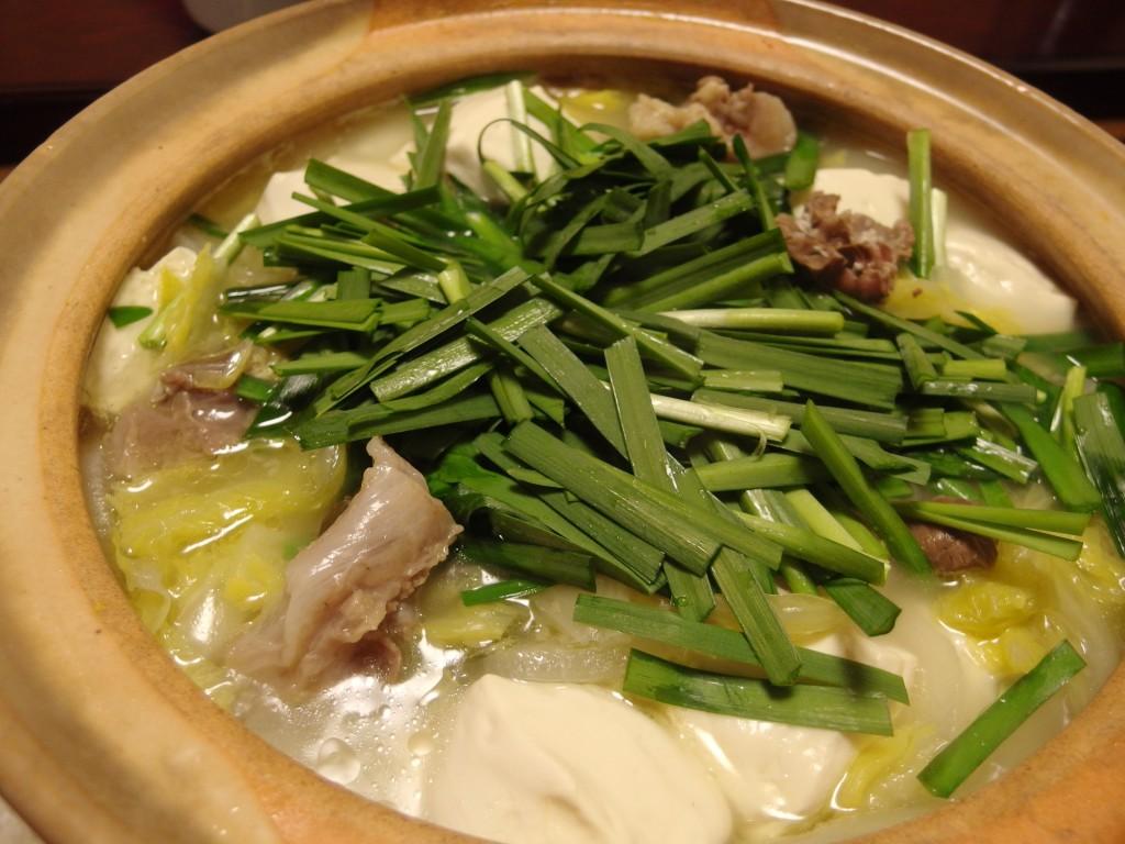 白菜とろとろすじぽん鍋