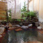 渋温泉湯本旅館貸切露天風呂