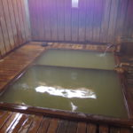 渋温泉外湯めぐり結願の湯九番湯大湯浴槽