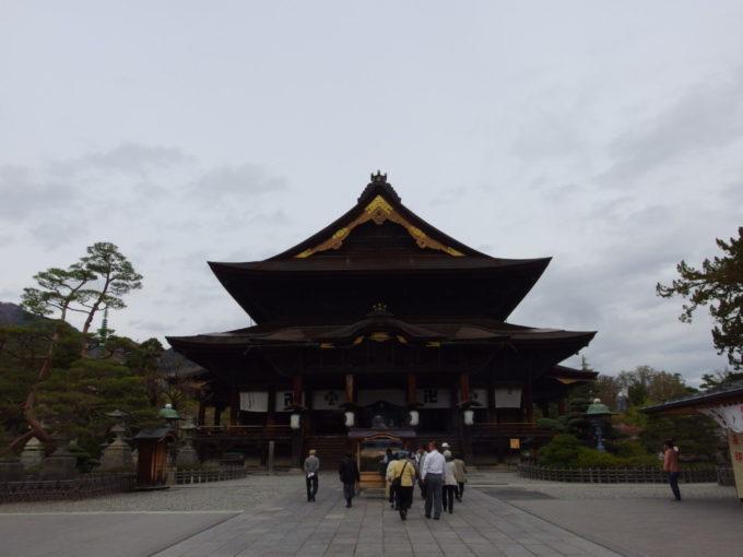長野善光寺本堂