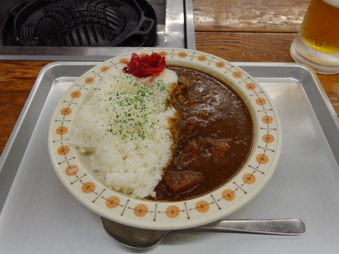 西那須野ホウライ千本松牧場ジンギス館千本松牧場カレー