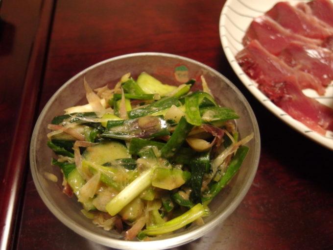 夏野菜の梅マキシマム和え