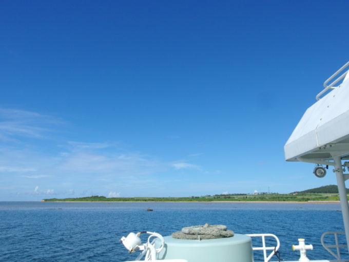 安栄観光高速船まもなく西表島大原港に到着
