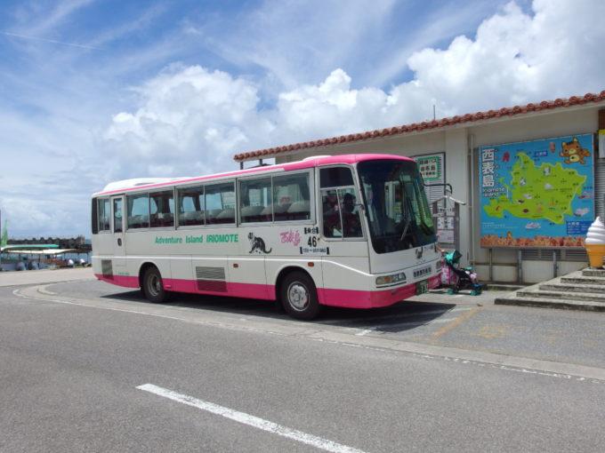 西表島の路線バス