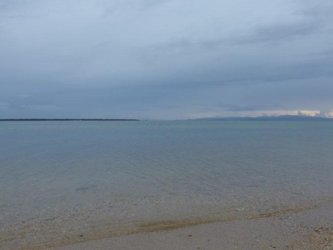 石垣島ビーチホテルサンシャイン前の砂浜