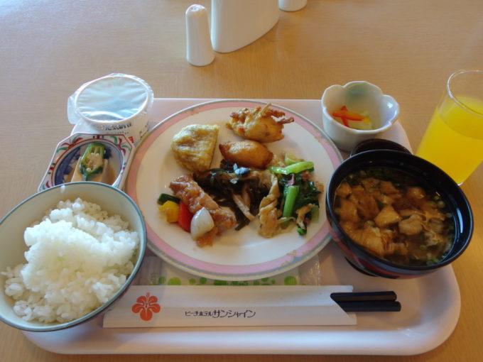 石垣島ビーチホテルサンシャイン2日目朝食