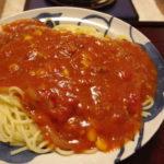 牛丼リメイク!コーントマトスパゲティー
