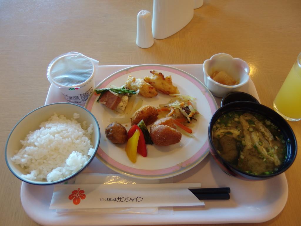 石垣島ビーチホテルサンシャイン3日目朝食