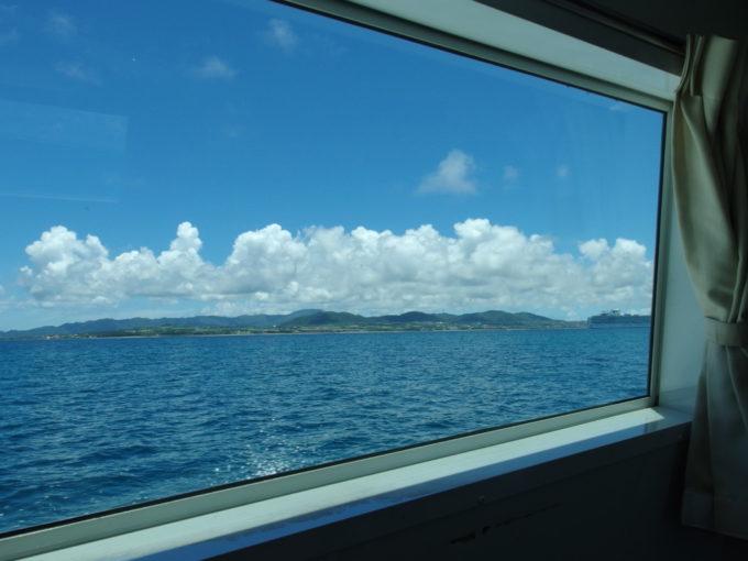 石垣島ドリーム観光の高速船で石垣島へ