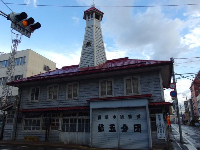 盛岡紺屋町番屋の火の見櫓