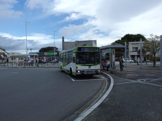 岩手県交通湯口線新鉛温泉行きバス