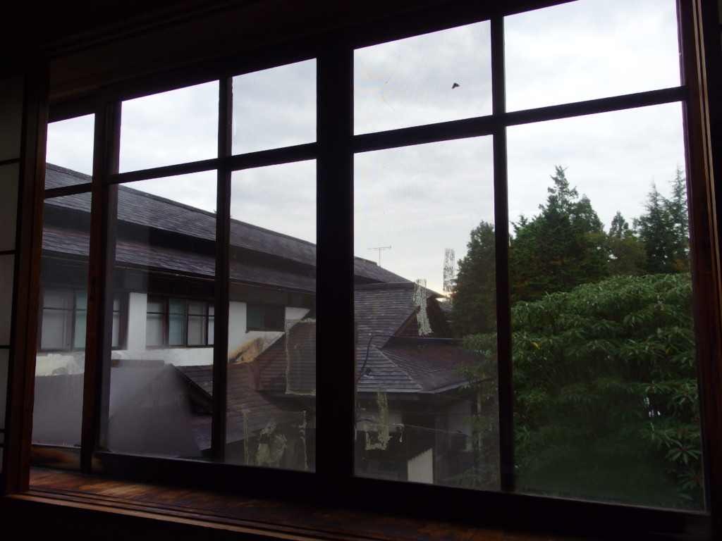東鳴子温泉郷黒湯高友旅館で迎える朝