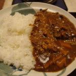 たっぷり下仁田の赤味噌カレー