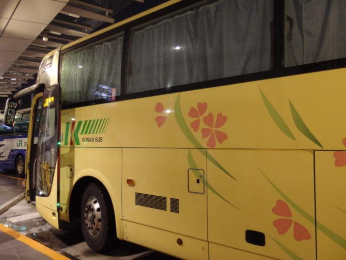 弘南バス津輕号青森行き