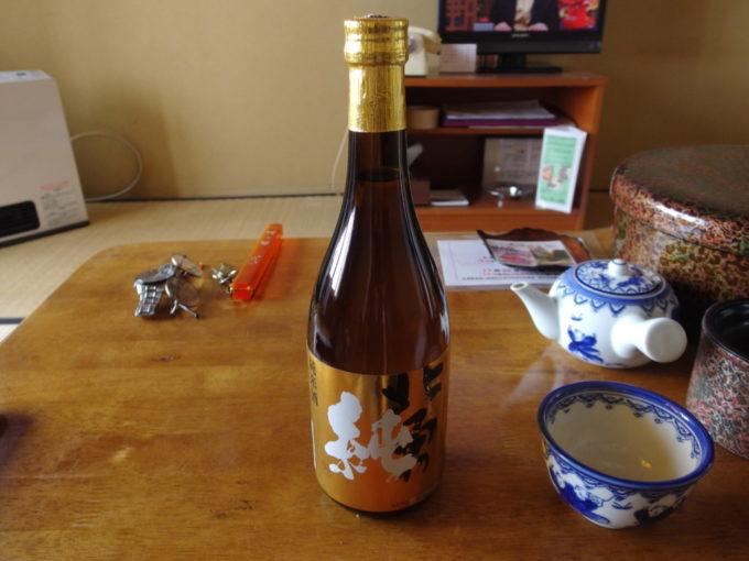 酸ヶ湯昼下がりのお供に関乃井酒造純米酒北勇純