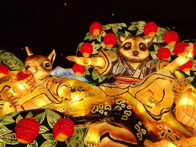 青森駅前ねぶたの家ワ・ラッセ表情豊かな動物たち