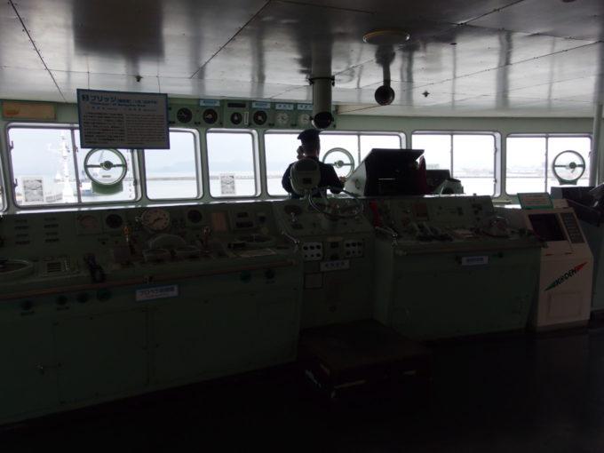 青函連絡船メモリアルシップ八甲田丸操舵室
