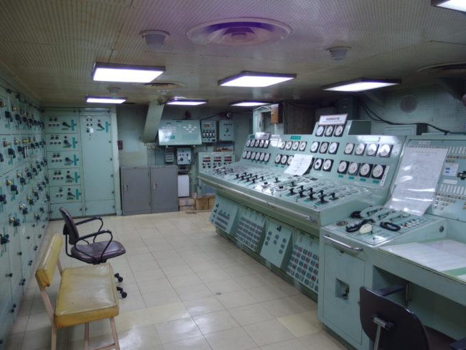 青函連絡船メモリアルシップ八甲田丸統括制御室