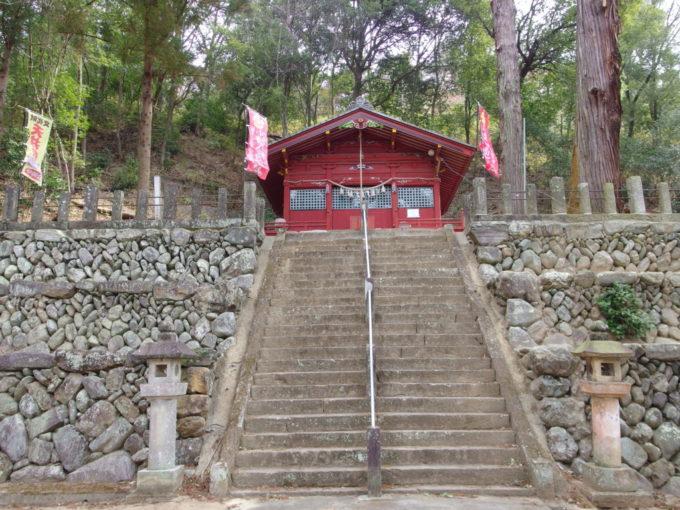 甘楽町小幡八幡宮拝殿
