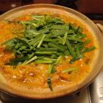 鯛とトマトのペペロンキムチ鍋