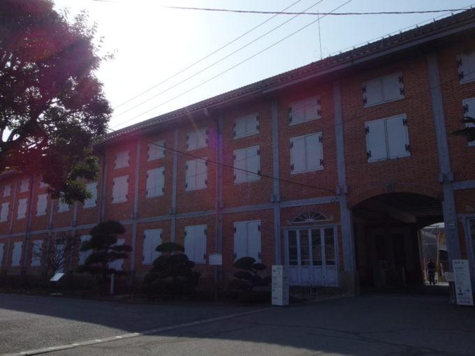 富岡製糸場のシンボル東置繭所