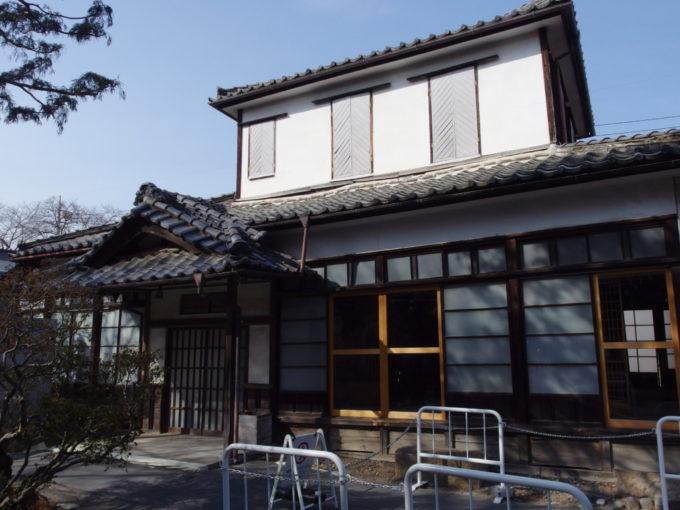 富岡製糸場幹部用の社宅