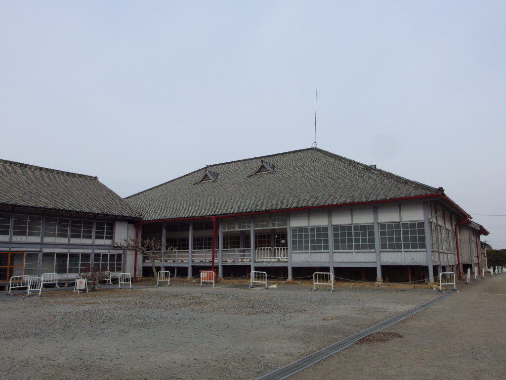 富岡製糸場大きく立派な首長館