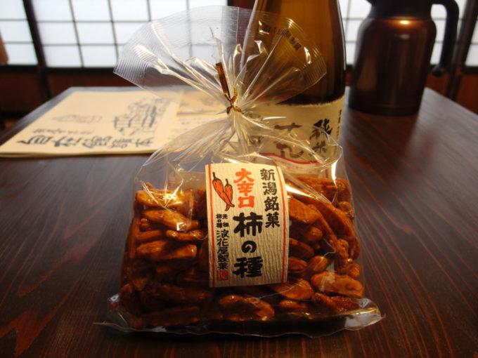 柿の種元祖浪花屋製菓の大辛口柿の種