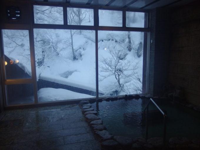 栃尾又温泉自在館貸切風呂たぬきの湯