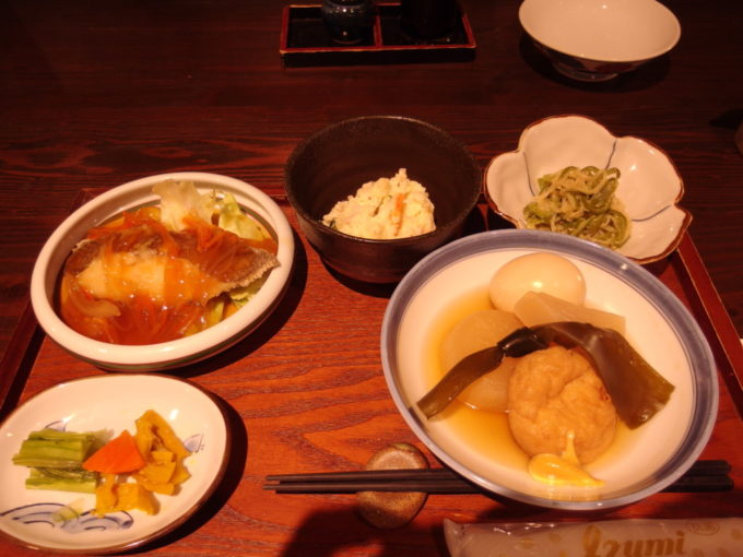 栃尾又温泉自在館デトックス湯治コース2泊目夕食