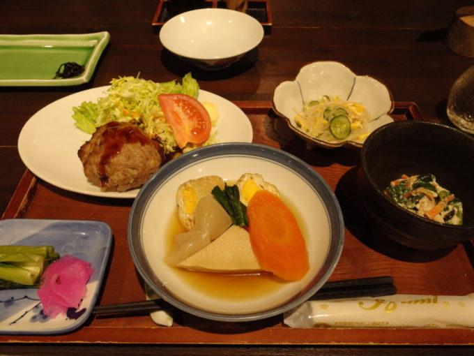 栃尾又温泉自在館デトックス湯治コース3泊目夕食