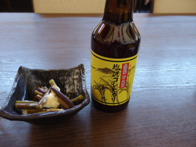 三国街道塩沢宿牧之通り魚沼さんちのおすそわけ塩沢コシヒカリビール
