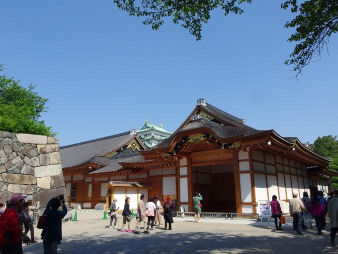 まもなく復元完成の名古屋城本丸御殿