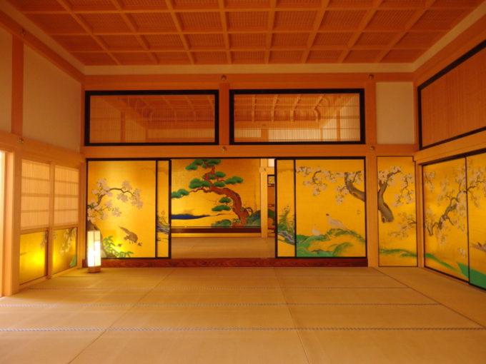 復元された名古屋城本丸御殿花鳥風月に彩られた部屋の数々