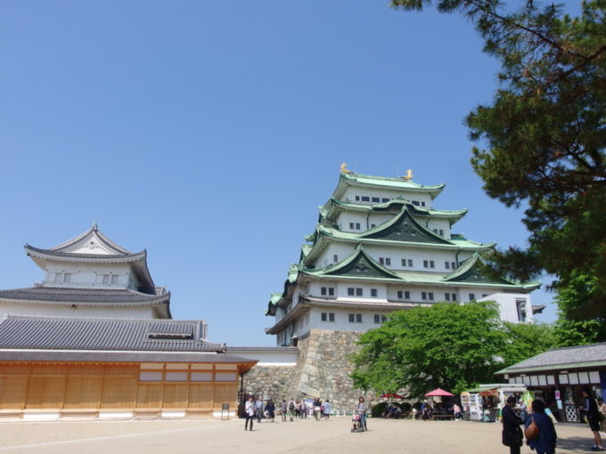 建て替え間近の名古屋城現天守閣最後の雄姿を胸に刻む