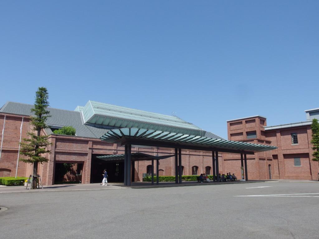 赤レンガ造りのトヨタ産業技術記念館