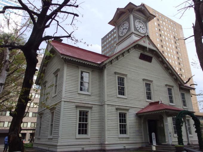6年ぶりの札幌時計台
