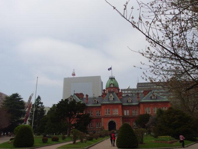 130年もの間北海道、札幌を見守り続けてきた北海道庁赤れんが庁舎